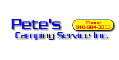 Pete's Camping Service