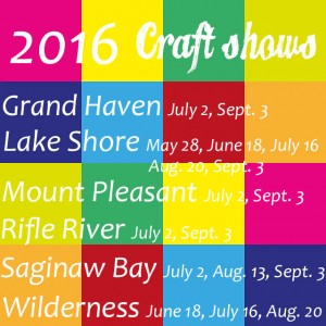 2016  craft shows