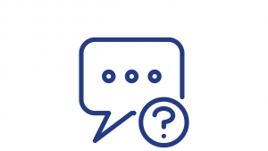 Message and question icon